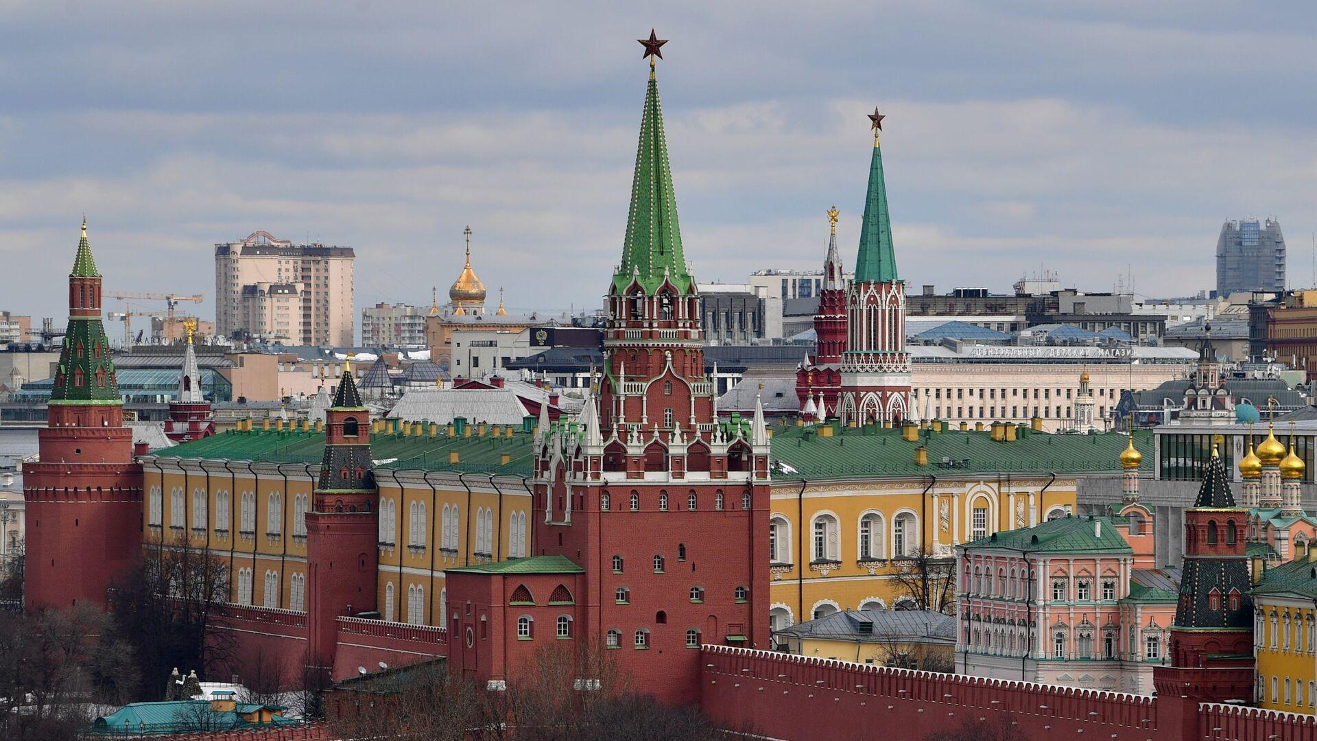 Pohled na Kreml v Moskvě - Sputnik Česká republika, 1920, 16.04.2021