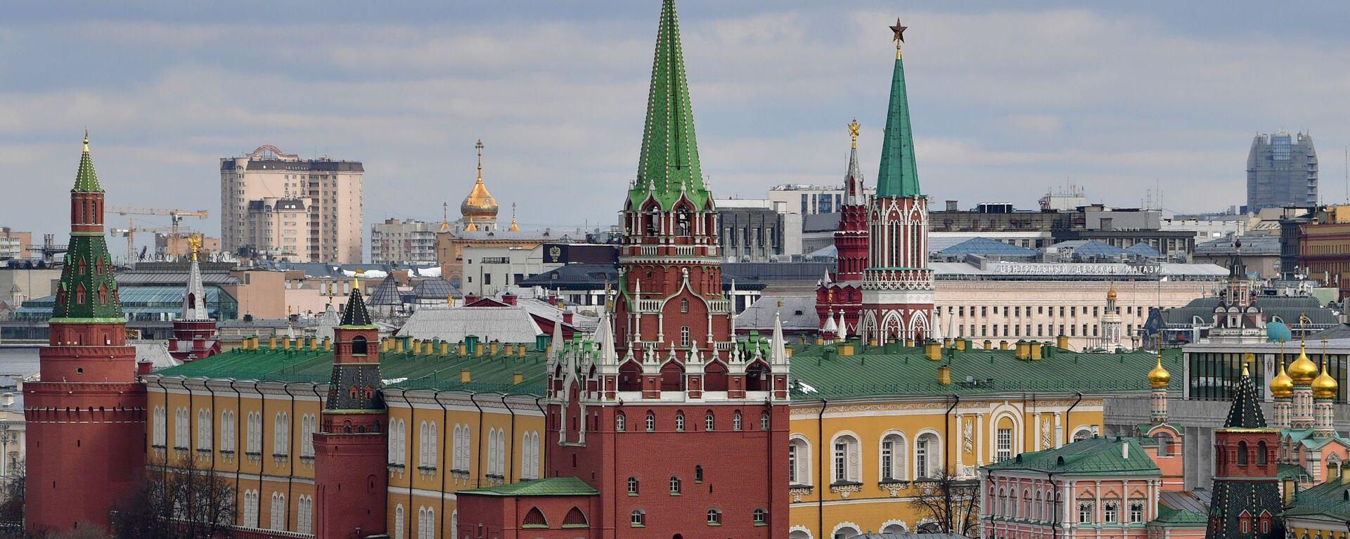Pohled na Kreml v Moskvě - Sputnik Česká republika, 1920, 14.04.2021