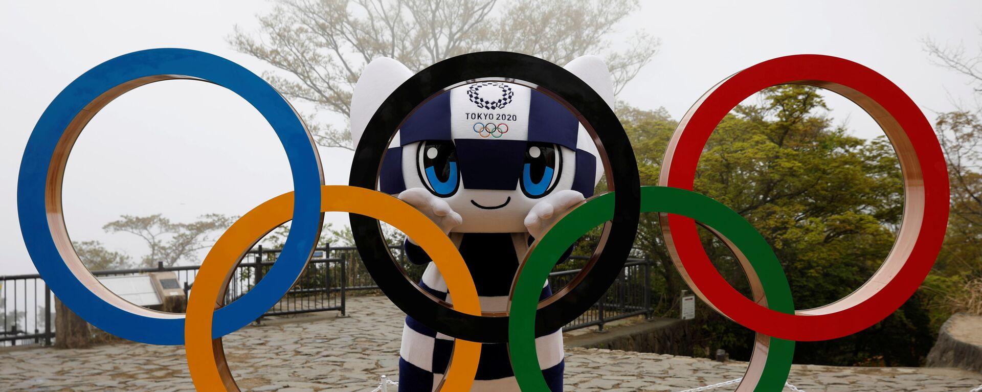 Талисман Олимпийских игр 2020 года в Токио Мирайтова - Sputnik Česká republika, 1920, 12.08.2021