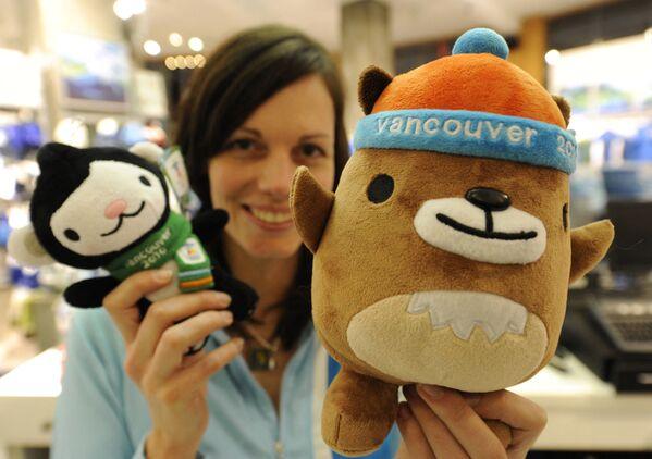 Maskoti Zimních olympijských her 2010 ve Vancouveru. - Sputnik Česká republika