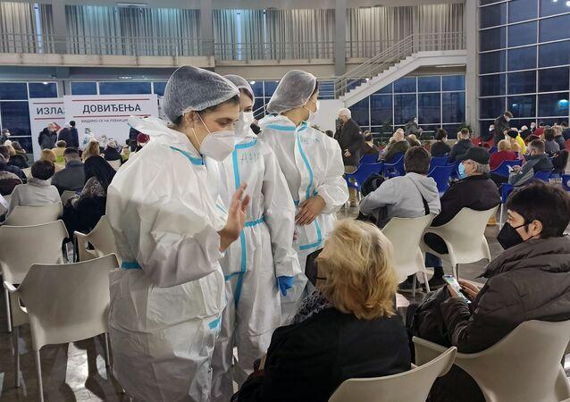 Očkování ruskou vakcínou Sputnik V v Srbsku