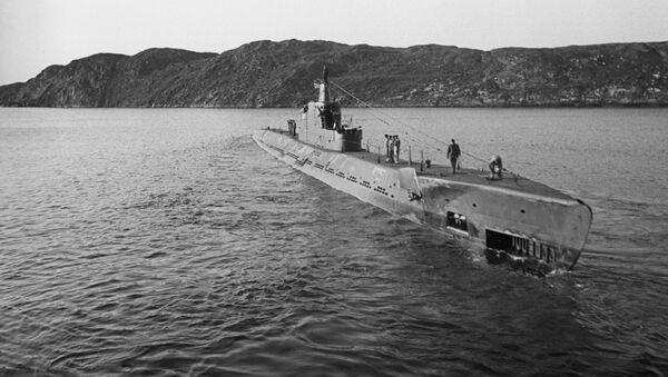 Sovětská ponorka K-21 - Sputnik Česká republika