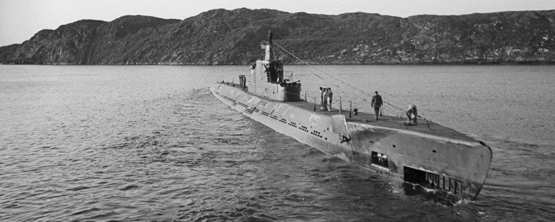 Sovětská ponorka K-21 - Sputnik Česká republika, 1920, 16.04.2021