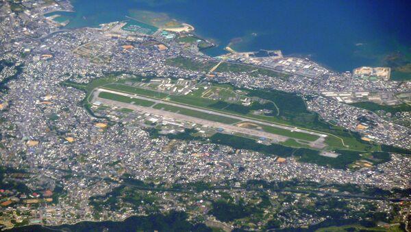 Americká základna Futenma na Okinawě v Japonsku - Sputnik Česká republika