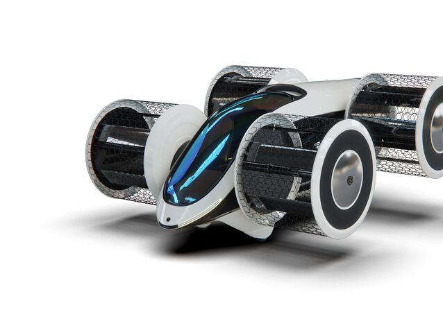 Projekt létajícího automobilu Cyclocar