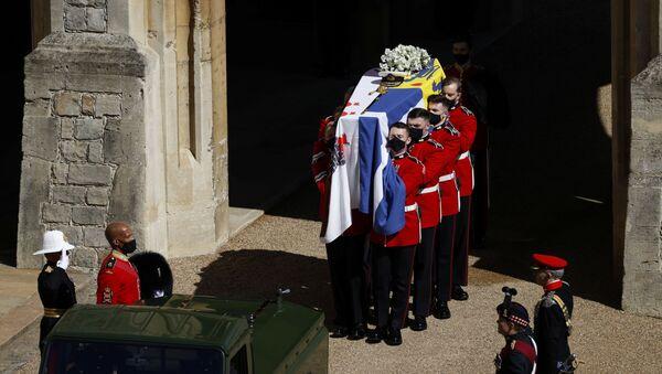 Pohřeb prince Philipa - Sputnik Česká republika