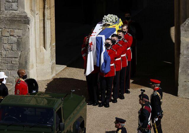 Pohřeb prince Philipa
