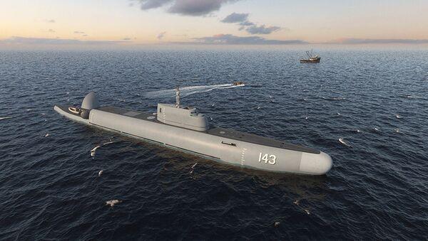 Projekt ruské ponorné hlídkové lodě Straž  - Sputnik Česká republika