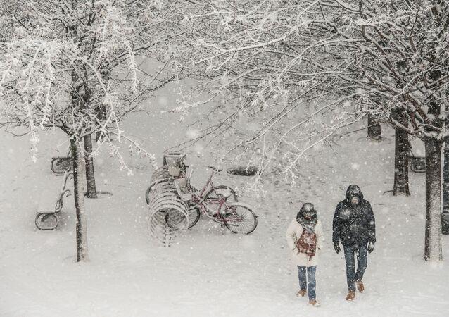 Počasí v Praze. Ilustrační foto