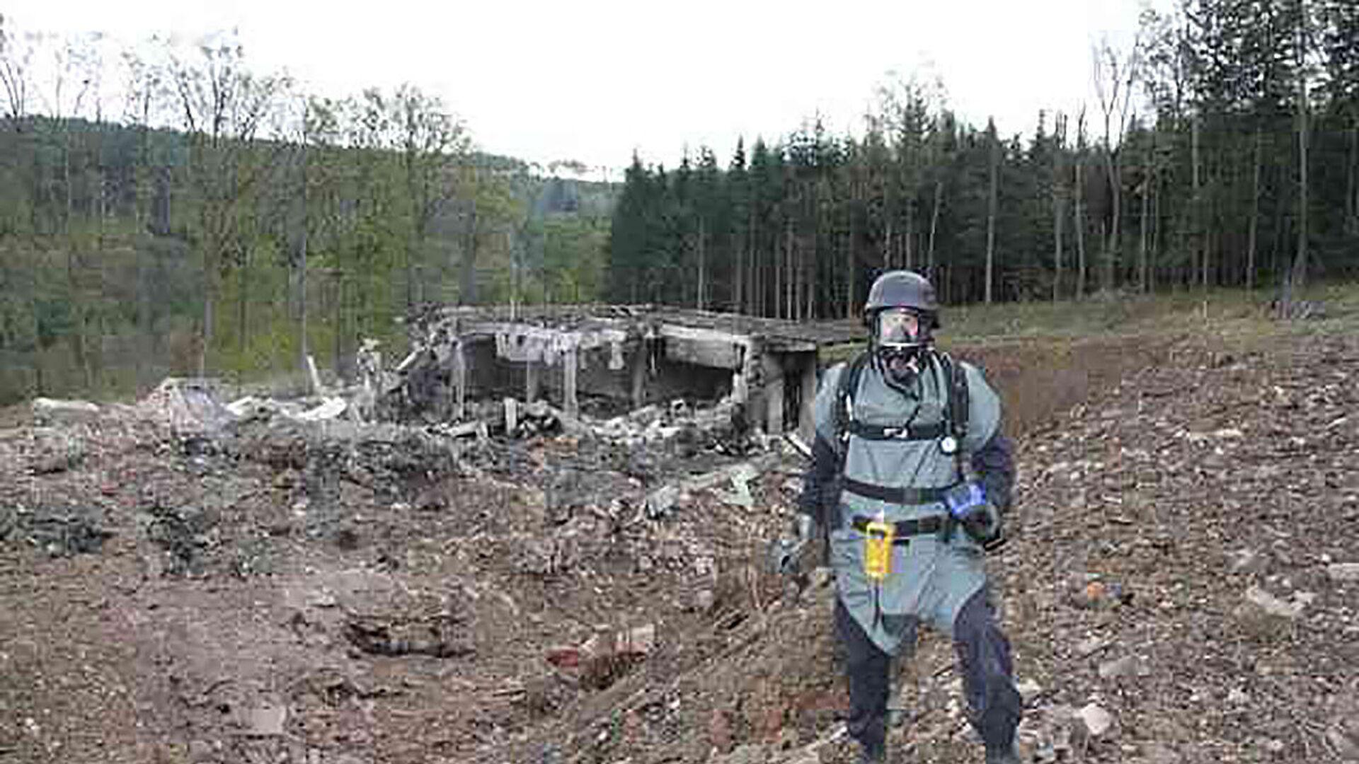 Výbuch ve skladu munice ve Vrběticích - Sputnik Česká republika, 1920, 09.05.2021
