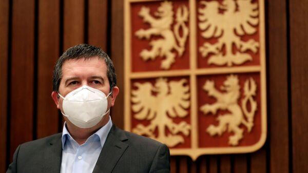 Министр внутренних дел Чехии Ян ГамачеК - Sputnik Česká republika
