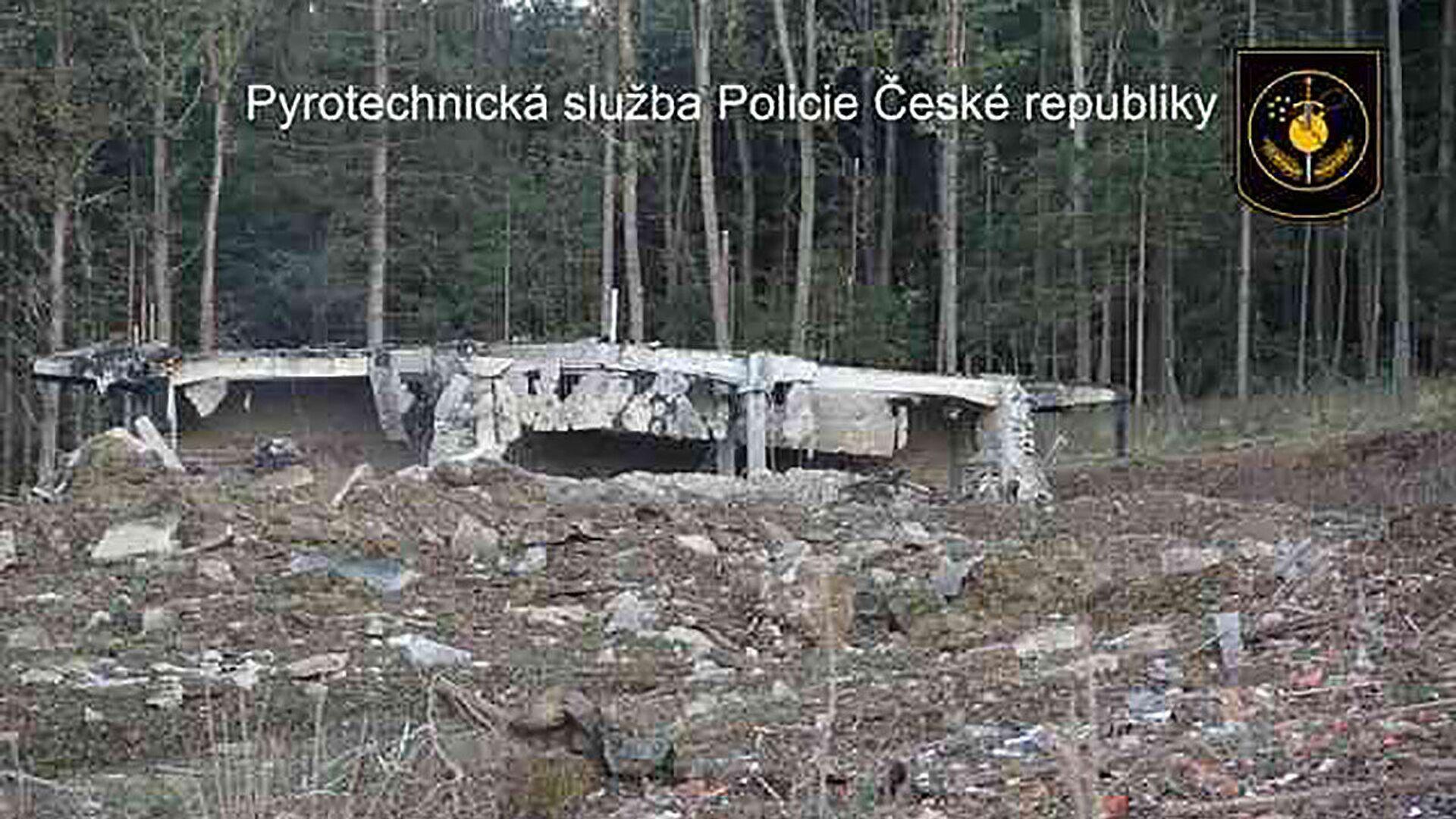 Výbuch skladu ve Vrběticích - Sputnik Česká republika, 1920, 20.04.2021