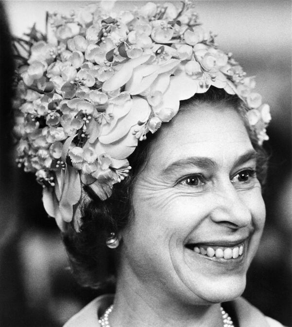 Portrét britské panovnice pořízený 30. června 1972. - Sputnik Česká republika