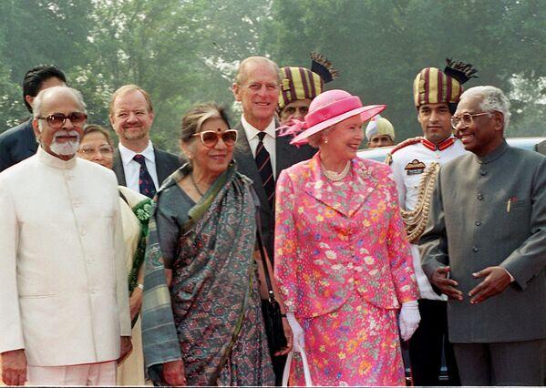 Královna během šestidenní návštěvy indické metropole Nového Dillí - Sputnik Česká republika