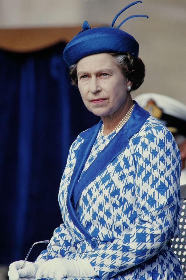 Fotografie britské královny z března 1986. - Sputnik Česká republika