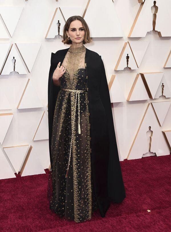 Natalie Portmanová na předávání Oscarů v roce 2020 - Sputnik Česká republika