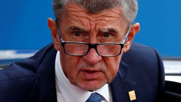 Премьер-министр Чехии Андрей Бабиш - Sputnik Česká republika
