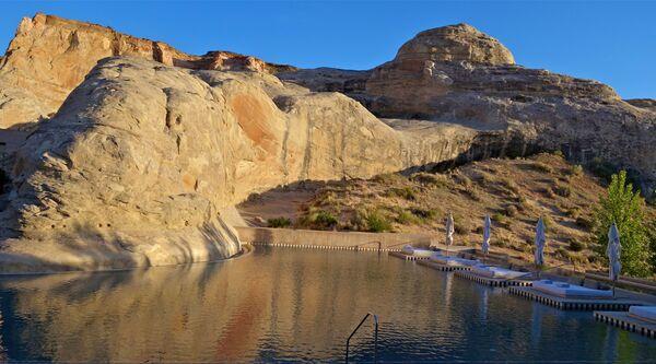 Bazén Amangiri v Utahu, USA - Sputnik Česká republika