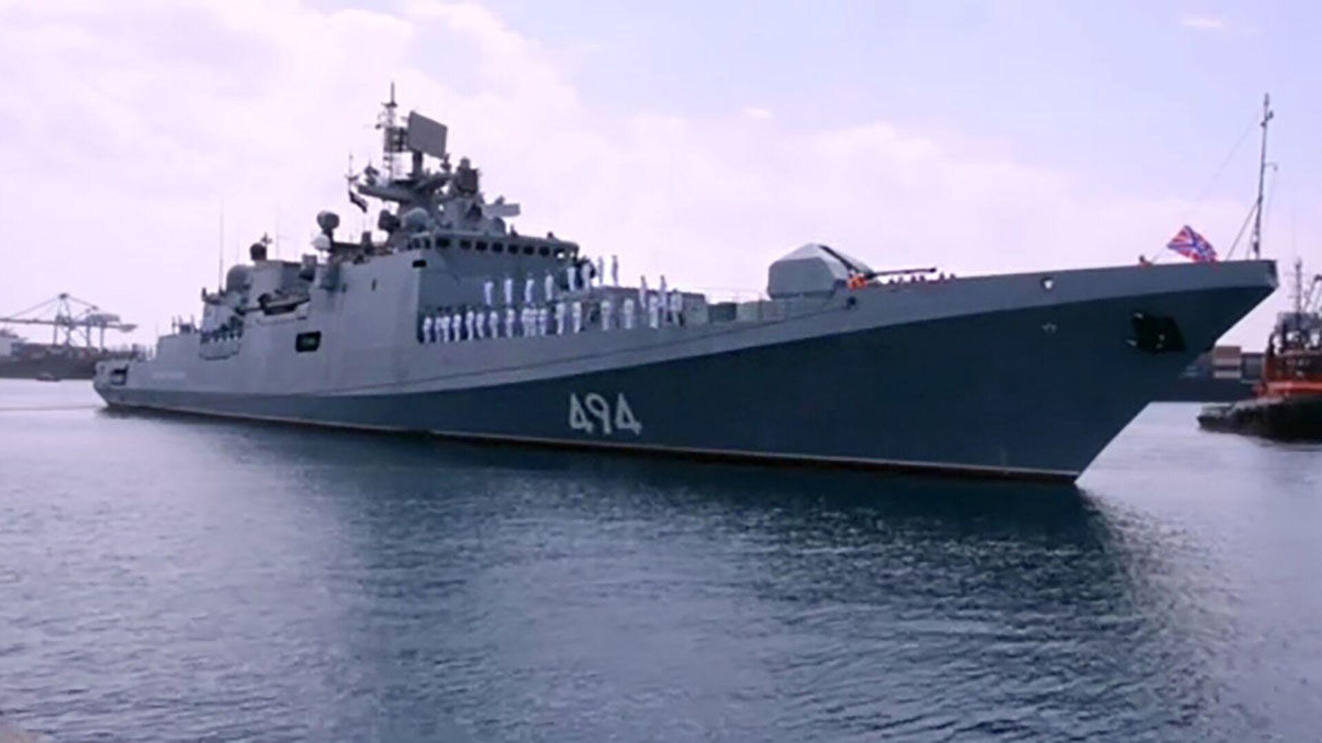Ruská válečná loď v přístavu Súdánu - Sputnik Česká republika, 1920, 28.04.2021