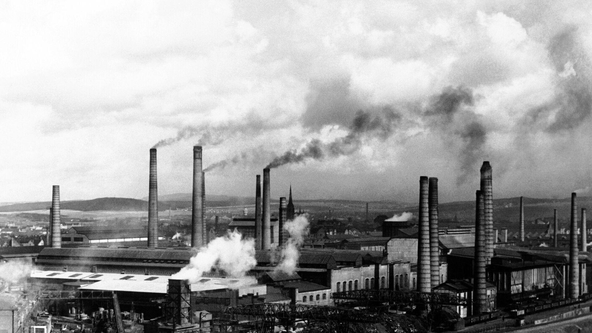 Завод Skoda в городе Пльзень, Чехословакия, в августе 1938 года - Sputnik Česká republika, 1920, 29.04.2021