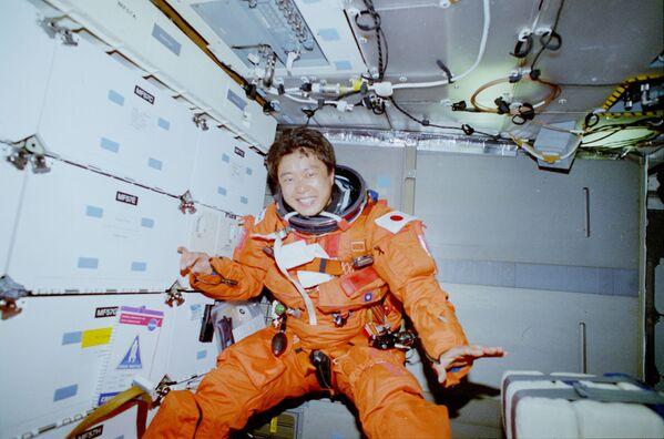 První japonská astronautka Čiaki Mukaiová - Sputnik Česká republika