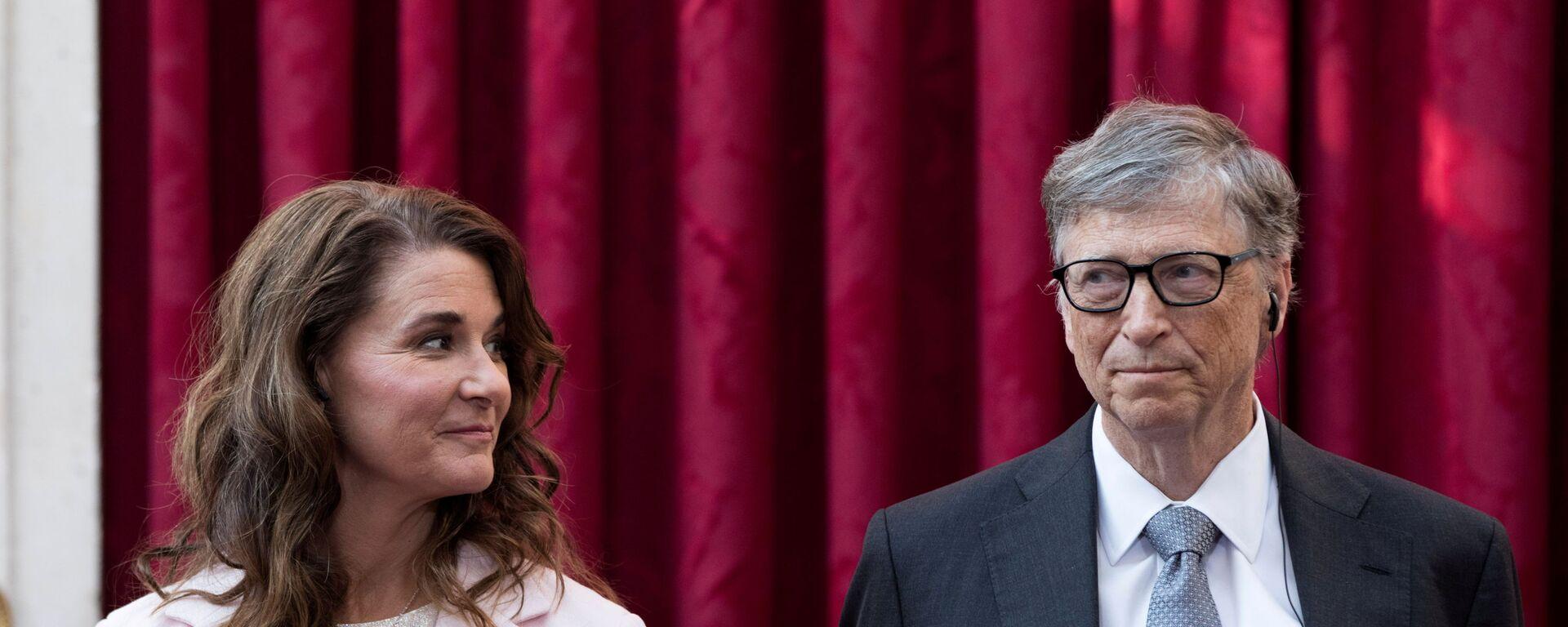 Bill a Melinda Gatesové - Sputnik Česká republika, 1920, 10.05.2021