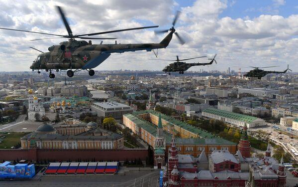 Vrtulníky Mi-8 AMTŠ  - Sputnik Česká republika