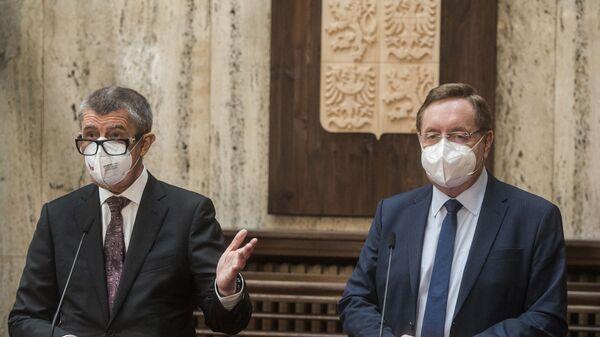 Новый министр здравоохранения Чехии Петр Аренбергер - Sputnik Česká republika
