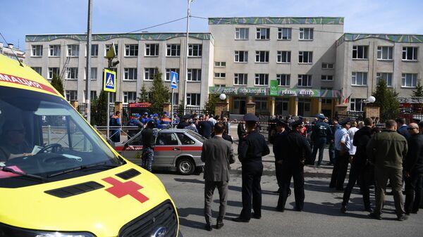Ve škole v ruské Kazani došlo ke střelbě. Zemřelo 11 lidí