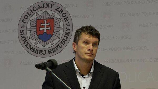 Глава Национального агентства по борьбе с преступностью Словакии Бранислав Зуриан - Sputnik Česká republika