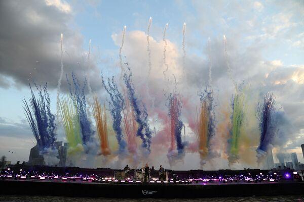 Coldplay na Brit Awards v Londýně - Sputnik Česká republika
