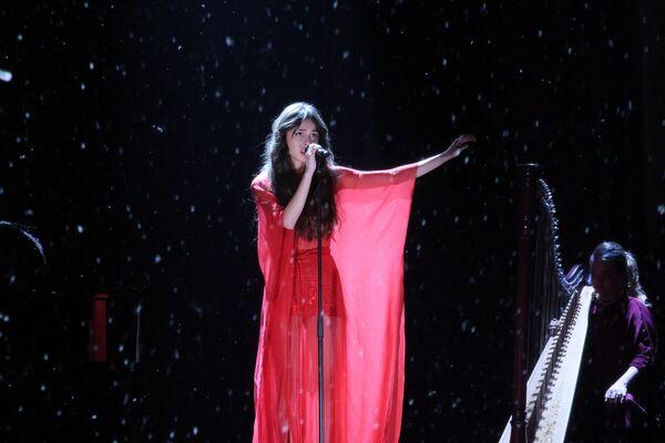 Zpěvačka Olivia Rodrigo na Brit Awards v Londýně - Sputnik Česká republika