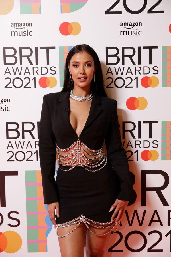 Moderátorka Maya Jama na Brit Awards v Londýně - Sputnik Česká republika