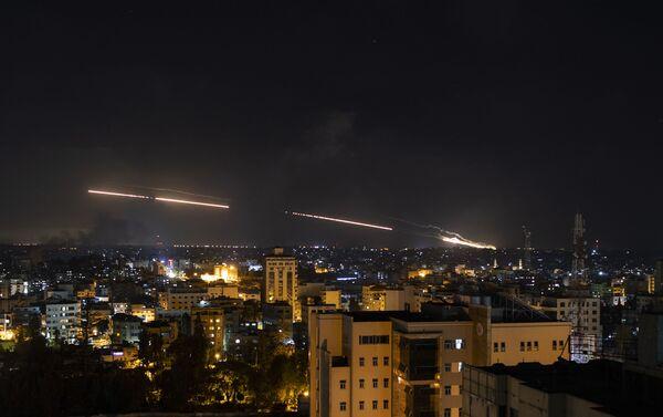 Rakety odpálené z Pásma Gazy směrem k Izraeli - Sputnik Česká republika