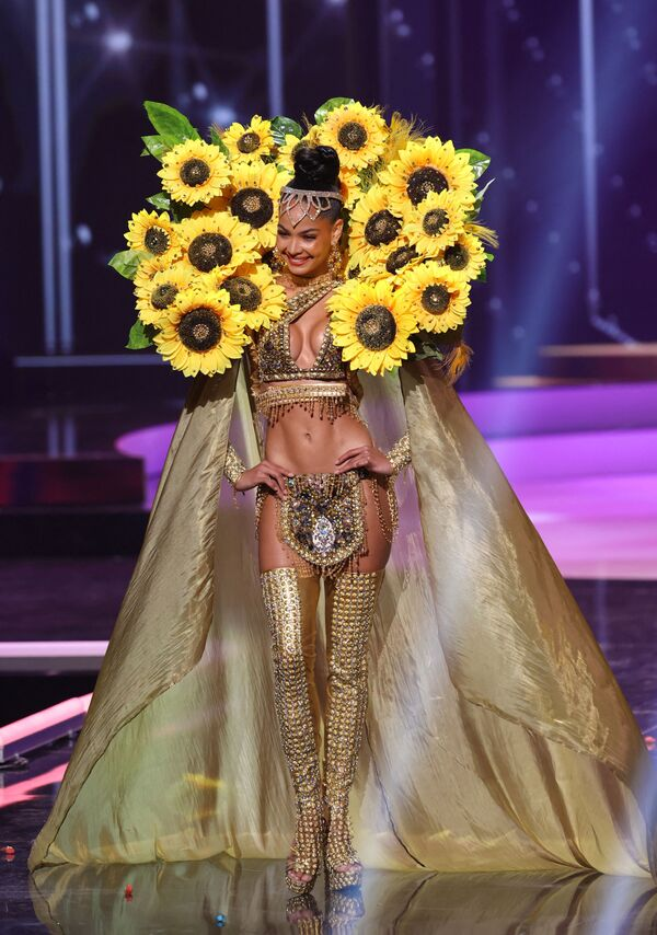 Miss Dominikánské republika Kimberly Jimenez.   - Sputnik Česká republika