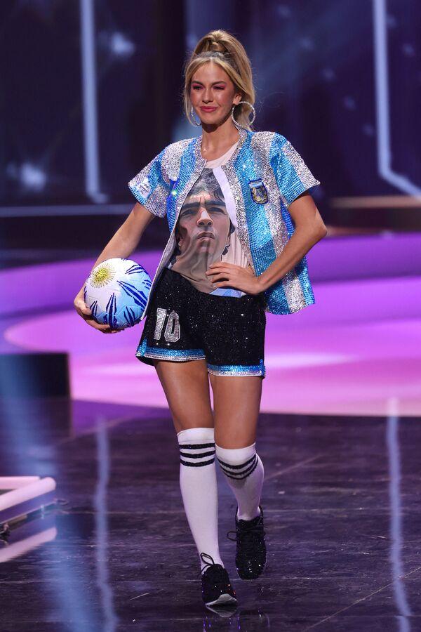 Miss Argentiny Alina Akselrad.  - Sputnik Česká republika