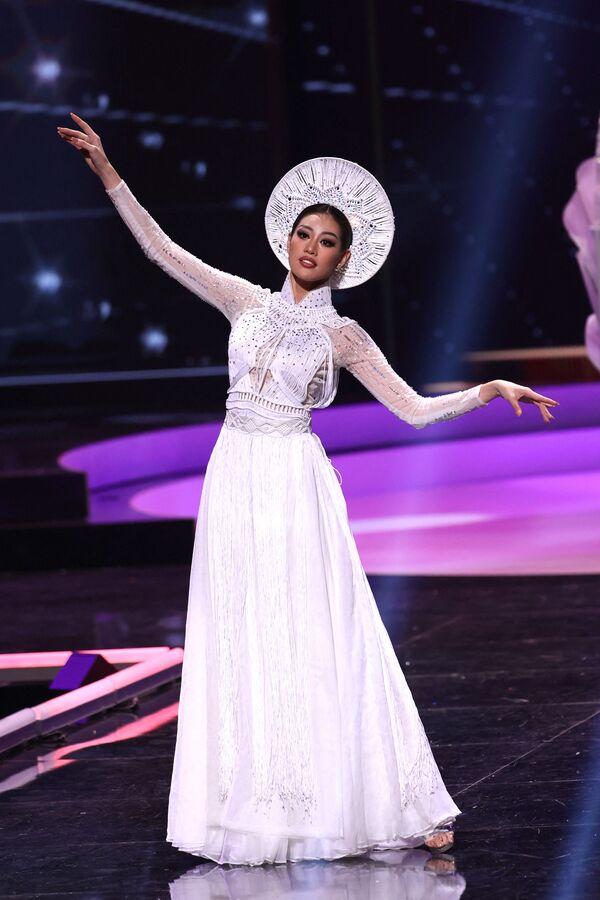 Miss Vietnamu Nguyen Tran Khanh Van. - Sputnik Česká republika