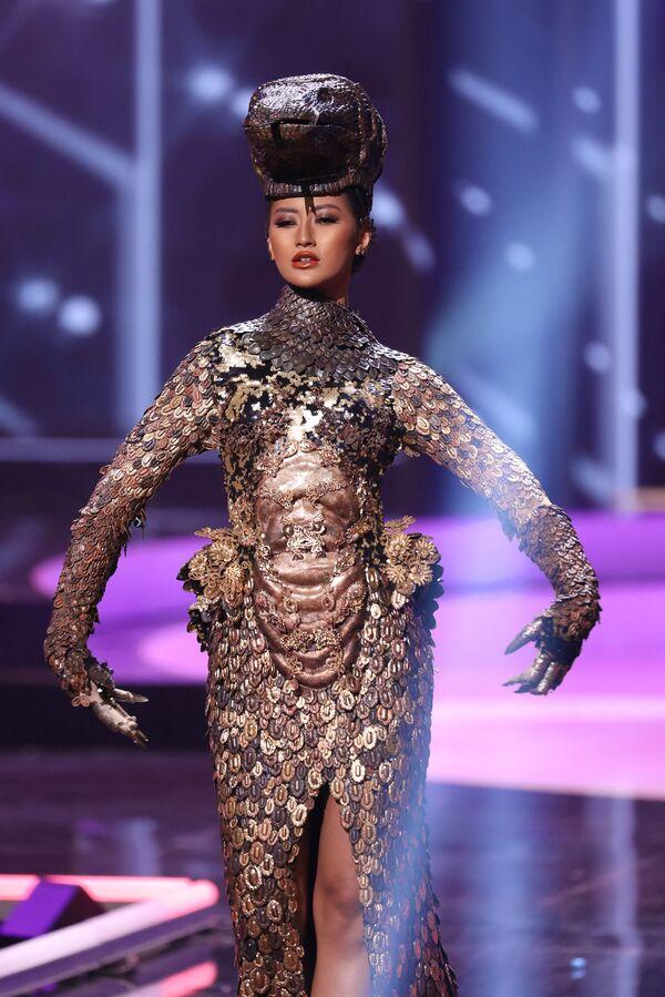 Miss Indonésie Ayu Maulida Putri. - Sputnik Česká republika