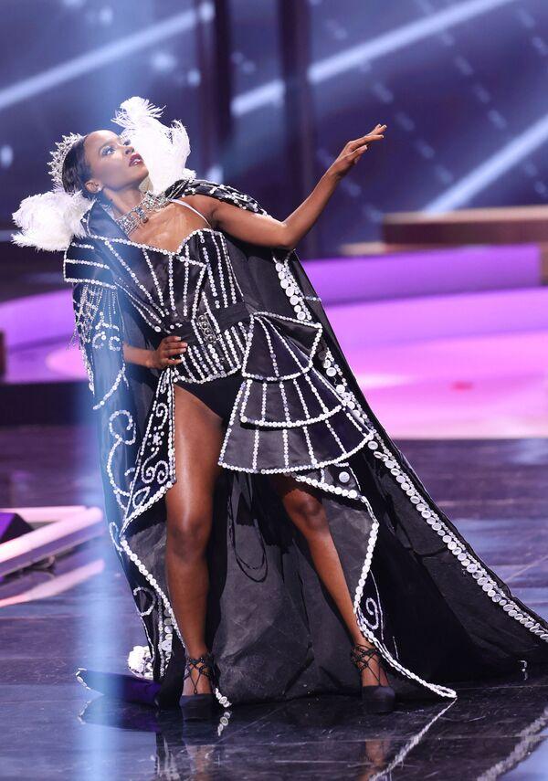 Miss Velké Británie Jeanette Akua. - Sputnik Česká republika