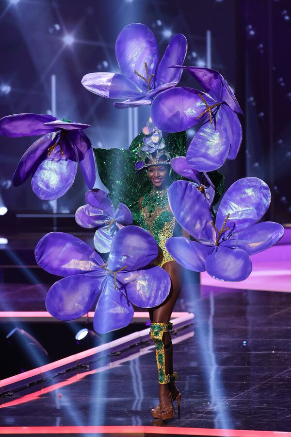 Miss Jamajky Miqueal-Symone Williams. - Sputnik Česká republika