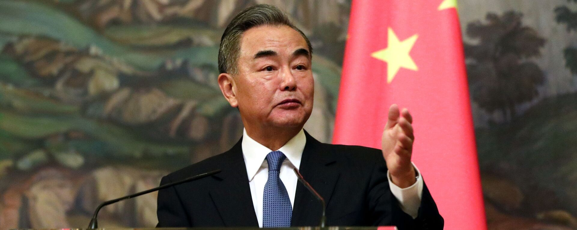 Čínský ministr zahraničí Wang I - Sputnik Česká republika, 1920, 16.05.2021