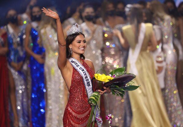 Vítězka světové soutěže krásy Miss Mexika Andrea Meza. - Sputnik Česká republika