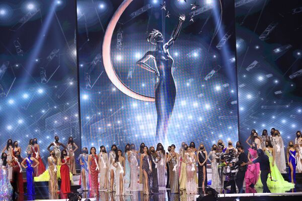 Všechny účastnice soutěže krásy Miss Universe 2021 - Sputnik Česká republika