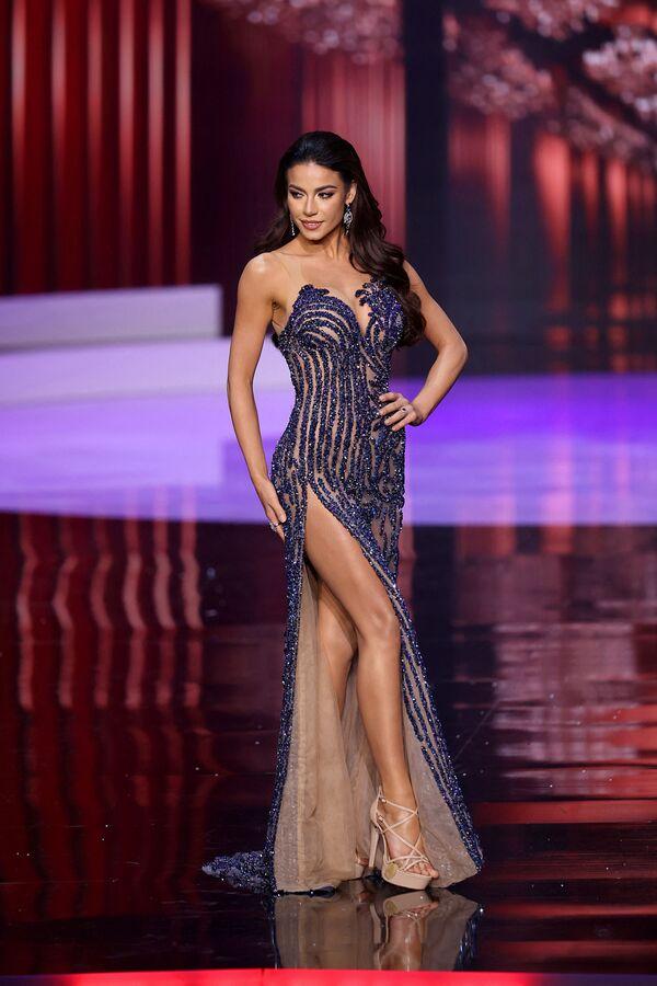 Miss Brazílie a finalistka Miss Universe 2021 Julia Gama. - Sputnik Česká republika