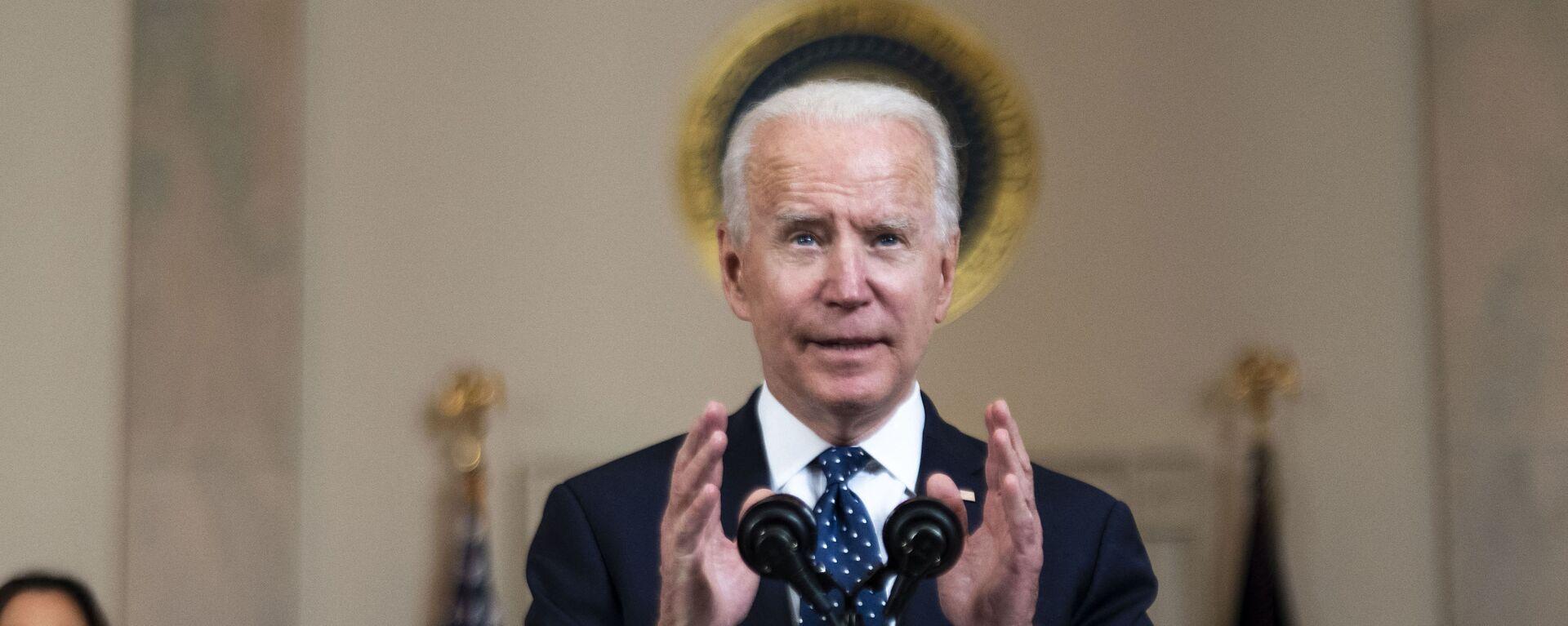 Americký prezident Joe Biden - Sputnik Česká republika, 1920, 17.05.2021