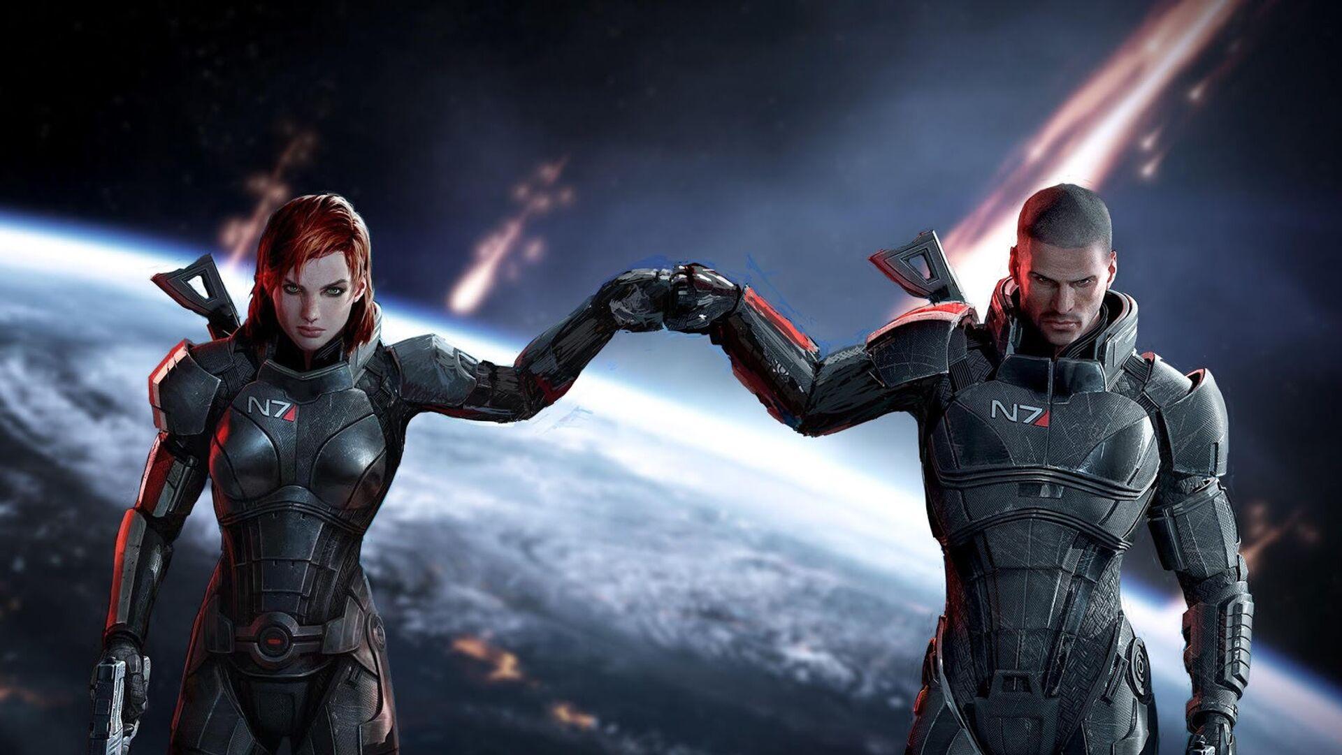 Záběr ze hry Mass Effect Legendary Edition - Sputnik Česká republika, 1920, 18.05.2021