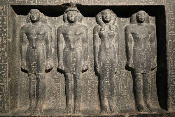 Jde o obnovenou verzi muzea, ve kterém si teď návštěvníci můžou prohlédnout okolo 70 exponátů, které pochází z období egyptských faraonů  - Sputnik Česká republika
