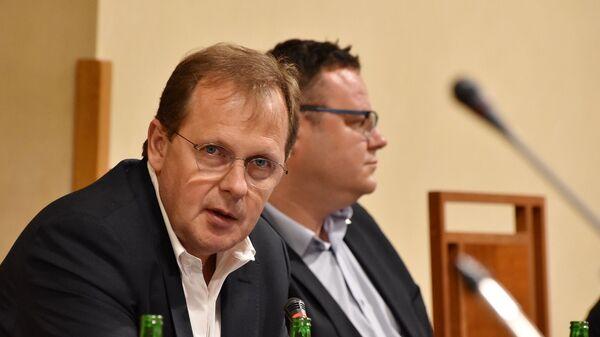 Директор Чешского телевидения Петр Дворжак - Sputnik Česká republika