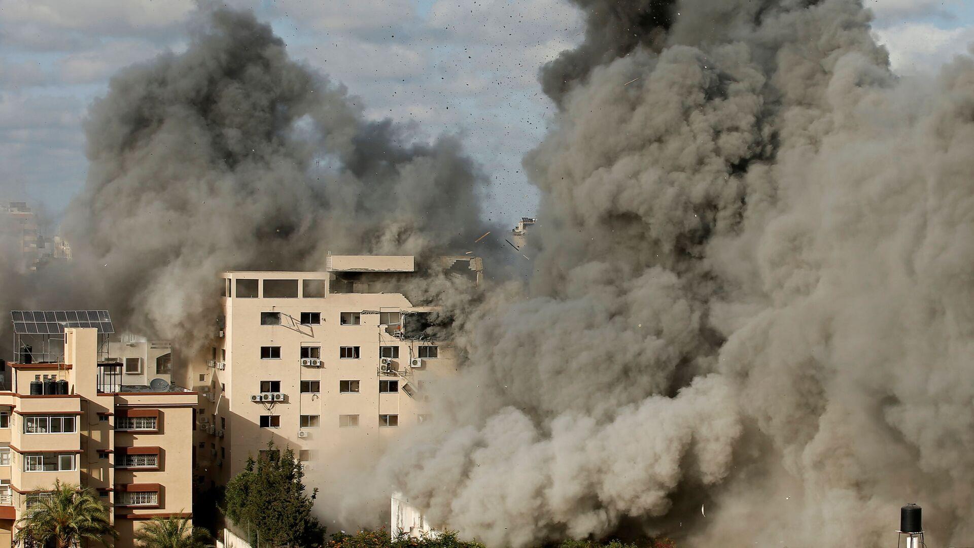 Izraelské útoky na Pásmo Gazy - Sputnik Česká republika, 1920, 20.05.2021