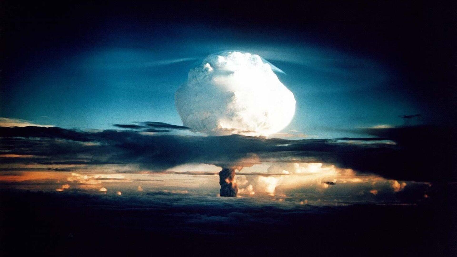 První zkouška prototypu vodíkové pumy. USA, 1. listopad 1952 - Sputnik Česká republika, 1920, 20.05.2021